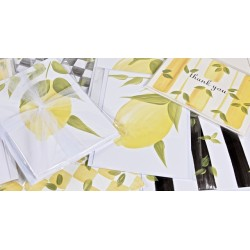Hand Painted Stationery: Lemons