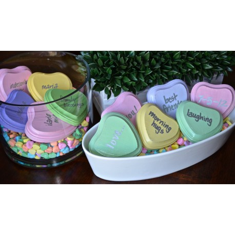 Custom Conversation Hearts