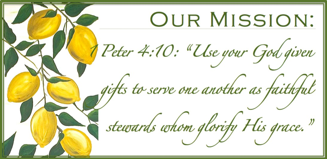 "1Peter 4:10 ""Use your God given gifts to serve one another as faithful stewards whom glorify His grace."""